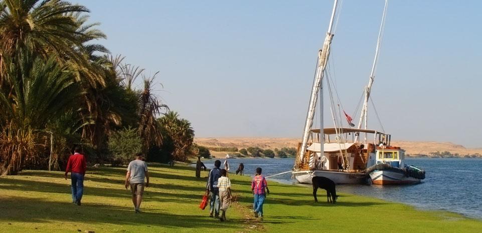 Dahabiya Nijlcruise van Luxor naar Aswan