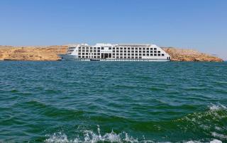 Nassermeer cruise MS Omar El Khayyam