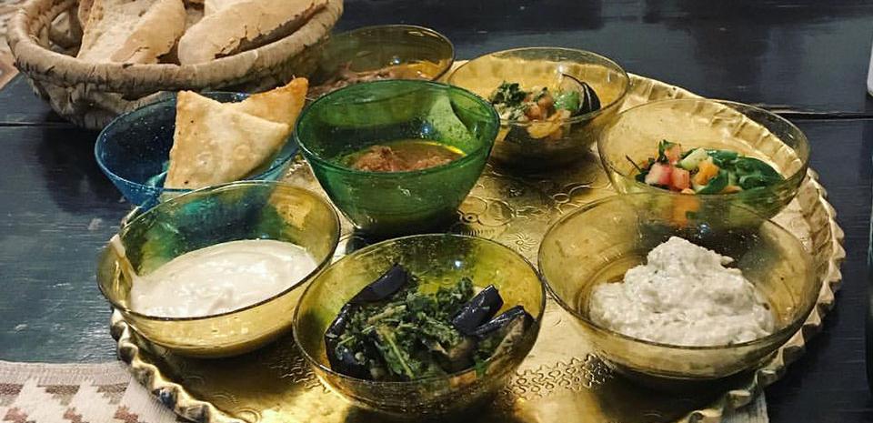 Eten in Egypte, Mezze, warme en koude voorgerechten