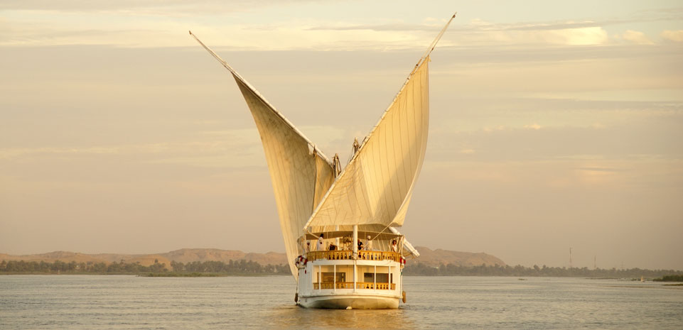 Nijlcruise tussen Luxor en Aswan per Dahabiya zeilschip