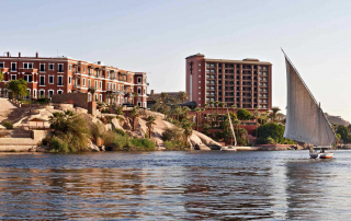 Historische Palace Wing en moderne Nile Wing - Old Cataract Hotel - Aswan