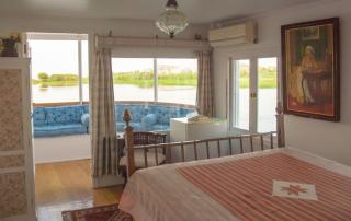 Prachtig uitzicht vanaf het privé terras van de suite