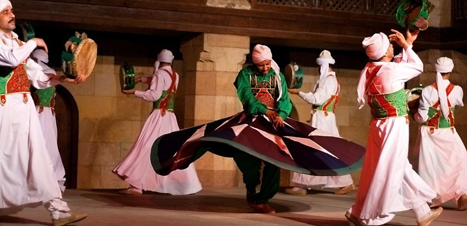 Derwisj dansvoorstelling Cairo