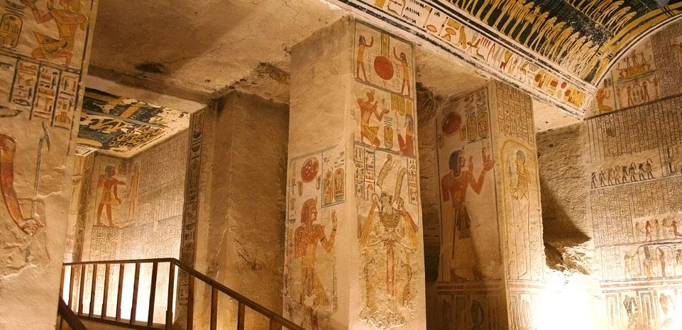 Graf in de Vallei der Koningen, Luxor
