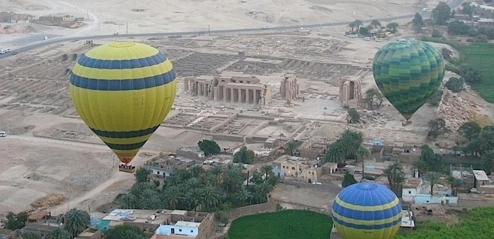 Ballonvaart Luxor